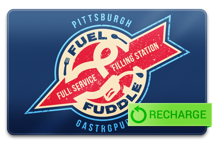 Recharge your Fuel and Fuddle Card